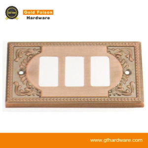 Modern Style Switch Power Cover for Furniture Hardware (163-3 GP/SN) pictures & photos