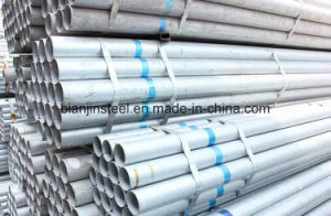 Construction Decoration ERW Galvanized Steel Pipe pictures & photos
