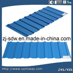 Coloured Galvanized Steel Roofing Sheet pictures & photos