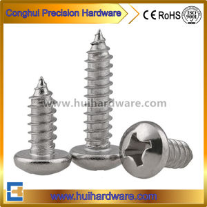 DIN 7981 Stainless Steel 304 Type-Ab Thread Self Tapping Screws pictures & photos