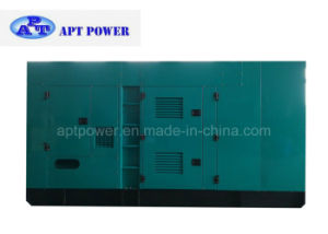 350kVA Weatherproof Silenced Diesel Generator Sets for Standby Use pictures & photos