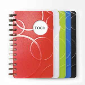 Customize A4 / B5 / A5 / A6 PU Leather Notebook Spiral Notebook B5 pictures & photos