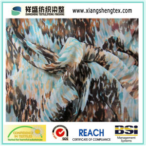 Polyester Chiffon Printing Fabric for Skin pictures & photos