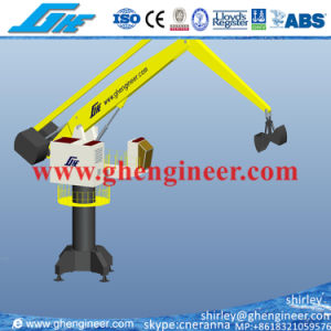 Floating Bulk Handling Grab Crane 25t 30t pictures & photos