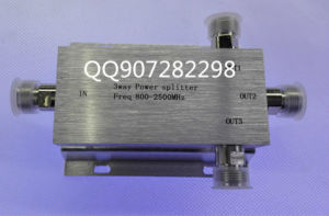 Three Power Splitter/N Head Power Divider/800-2500MHz Power Divider