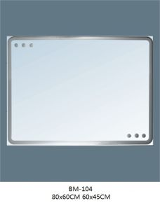 Sanitary Ware Bathroom Glass Mirror pictures & photos