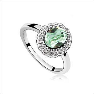 VAGULA Round Zircon Fashion Silver Ring pictures & photos