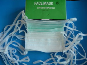 2ply Nonwoven Face Mask-Tie on pictures & photos