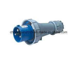 Hy-0332 2015 Newest 3pins 32A IP67 Waterproof Industrial Plug pictures & photos