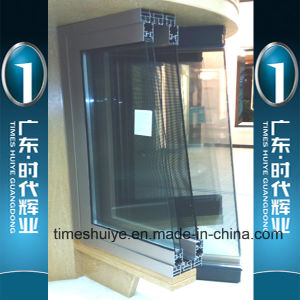 Security Aluminum Folding Door with Germany Lock pictures & photos