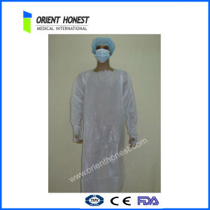 High Fluid Repellency Breathable Disposable Hospital Gowns