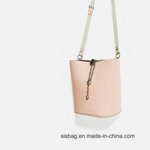 Pink Color Bucket Bag Leisure Shoulder Bag for Women pictures & photos