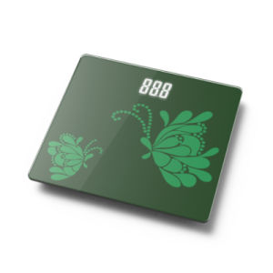 Large LED Display Electronic Weighing Scale with Glass Platform&Full Base pictures & photos