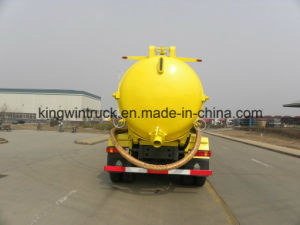China Brand 20tons Suction Sewage Truck pictures & photos