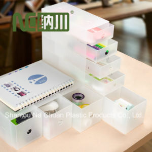 PP Material Stocked Feature Plastic Storage Box for Home Organize