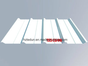 Corrugated Steel Roofing Cladding (grey white) pictures & photos