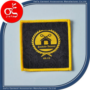 High Density Woven Badges Patch/Woven Badges Iron-on / Sew-on pictures & photos