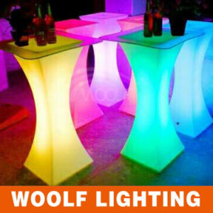 Fashion LED Table, LED Square Cocktail Table pictures & photos