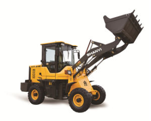 1.6 Ton Front End Loader Hydraulic Mini Wheel Loader pictures & photos