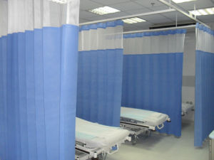 100 % Polypropylene Nonwoven Medical Antibacterial Disposable Curtains pictures & photos