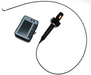 2.4mm Industrial Video Boroscope with 2-Way Articulation, 1.2m Testing Cable
