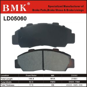 High Quality Brake Pad (D5060M) pictures & photos