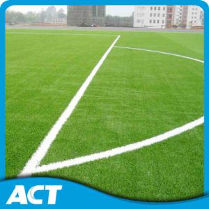 Factory Wholesale UV Resistant Good Quality Synthetic Turf for Football Field (W50) pictures & photos