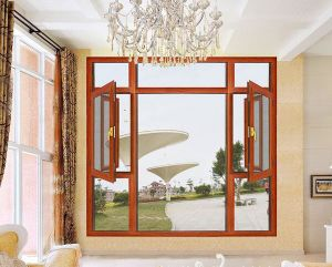 Good Quality Cheap Price Aluminum Wood Casement Window pictures & photos