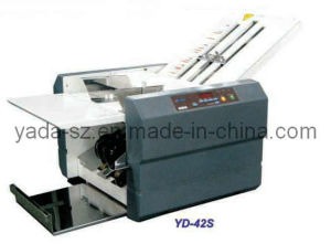 Semi-Auto Feeding Office Paper Folding Machine (YD-42S) pictures & photos