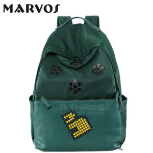 2016 New Fabric with Leather Backpack BS13660