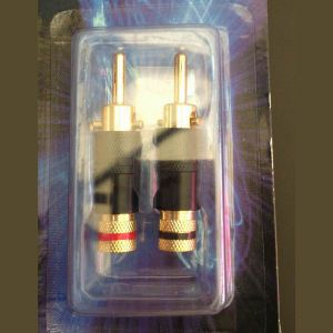 High Quality Wbt Style Speaker Cable Banana Plug Terminals pictures & photos