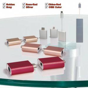 USB-C to Dismountable 3 Parts Adapter Aluminum Alloy with Mini Dp 4k@30Hz, HDMI 4k@30Hz and VGA 2k@30Hz pictures & photos