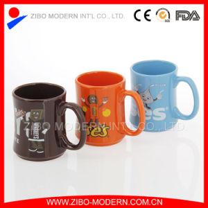 Chocolate Mug Special Shape Ceramic Mug with Brand Decal Design pictures & photos