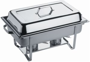 9liter Economic Stainless Steel Chafing Dish (CD001) pictures & photos