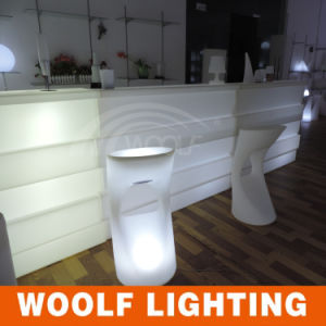 2017 New Designs Woolf LED Illuminated Bar Counter Furniture pictures & photos