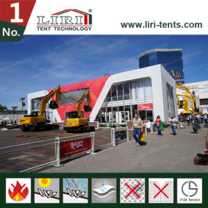 Double Decker Tent with Glass Wall for Outdoor Events and Trade Show pictures & photos
