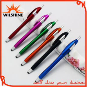 Slim Hotel Promotional Plastic Stylus Ball Point Pen (IP034) pictures & photos