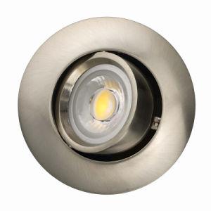 Die Casting Aluminum GU10 MR16 Round Recessed Tilt Downlight (LT1204) pictures & photos