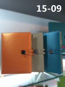 High Quality PU Leather Cover Notebook with Magnetic Closure pictures & photos