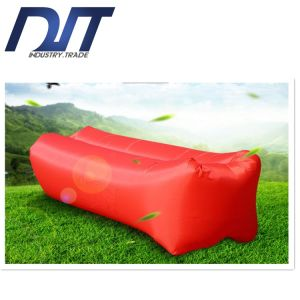 Custom Logo Square Pillow Inflatable Beach Air Lazy Bed