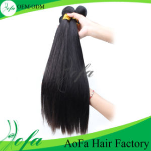 100% Raw Wet Indian Virgin Striaght Human Hair Extension pictures & photos