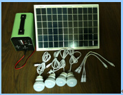 150W Portable Solar System for Lighting and Charge Use pictures & photos