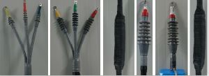 27.5 Kv Railway Special Series Cold Shrink Cable Accessories Cable Terminals