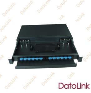 12 Cores Slidable Rack Mount Type/Fiber Optic Patch Panel/ODF pictures & photos