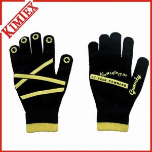 Winter Knitted Acrylic Magic Promotional Glove pictures & photos