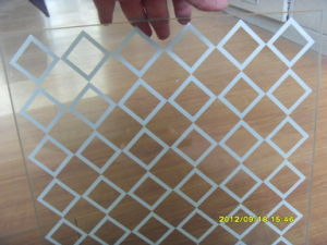 Bent Tempered Glass for Sale, Silkscreen Printing /Frosted Tempered Glass pictures & photos
