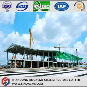 Steel Structure Hangar with Arc Roof pictures & photos