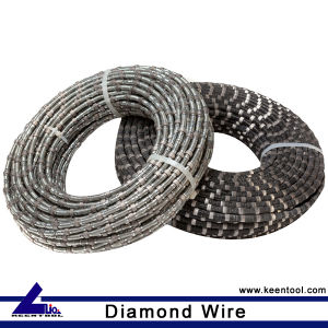 Keen Rubber and Spring Wire Saw for Granite and Marble Quarry pictures & photos