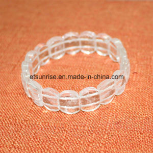 Semi Precious Stone Crystal Beaded Faceted Bracelet Bangle Jewellery pictures & photos