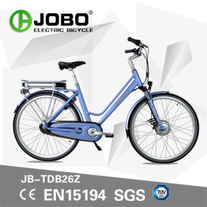 DC Bafang Motor Hot Sale Dutch City Electric Bike Moped with Pedal (JB-TDB26Z) pictures & photos